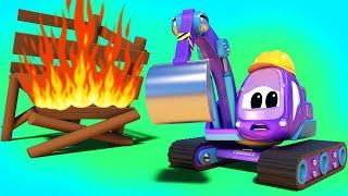 Putting Out the Blossom Blaze | SuperTruck - Rescue | Trucks Videos for Children