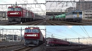 E721系甲種輸送9171レからカシオペア紀行8009レまで 与野付近 2017/02/25