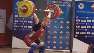 2013 Polish Weightlifting Championships 94kg Highlights