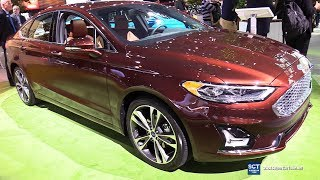 2019 Ford Fusion Titanium - Exterior and Interior Walkaround - Debut 2018 New York Auto Show