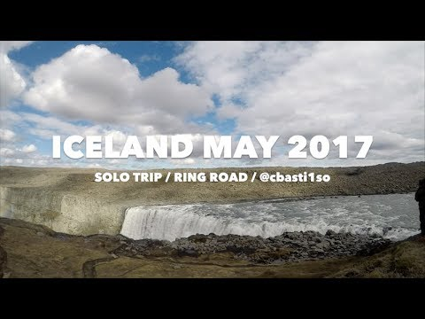 Iceland 2017 May solo trip Ring Road