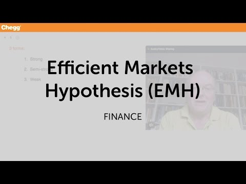 Efficient Markets Hypothesis (EMH) | Finance | Chegg Tutors