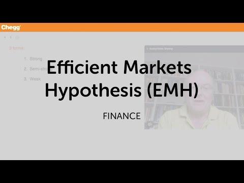 Efficient Markets Hypothesis (EMH) | Finance | Chegg Tutors