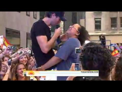 Enrique Iglesias Hero  TODAY SHOW 201016th July 2010