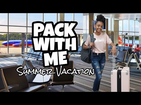 Pack With Me for Summer Vacation (Packing Tips & Hacks)
