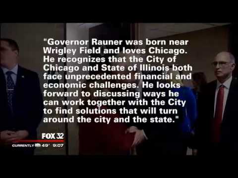 Rauner to address Chicago City Council, discuss plans for city