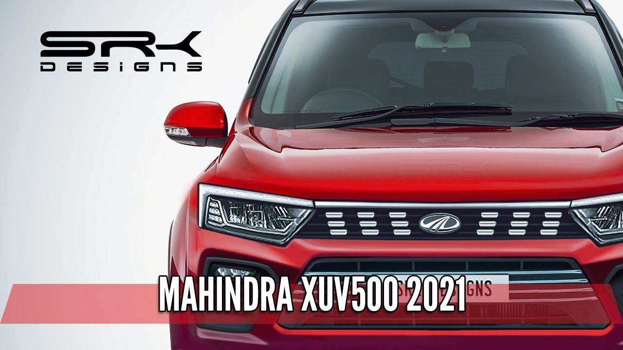 Next-gen Mahindra XUV500 2020 - Photoshop Car Rendering | SRK Designs