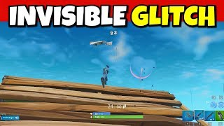 i invisible glitch 1v1 people in fortnite... (very hard)