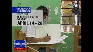 Saksi: Barangay at SK elections, tuloy na sa May 14