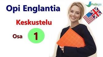 Opi Englanti | tärkeä keskustelu aloittelijoille