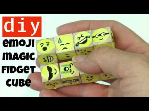 DIY FIDGET TOYS-HOW TO MAKE AN INFINITY CUBE CHEAP AND EASY-STIM TOYS