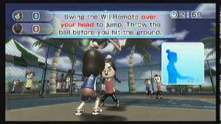 wii sports resort part 3 cycling and basketball acorn games