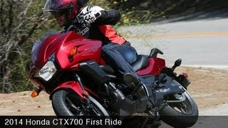 motoUSA First Ride: 2014 Honda CTX700