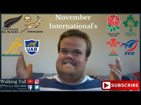 November Rugby Internationals 2017 Predictions   Gareth Mason