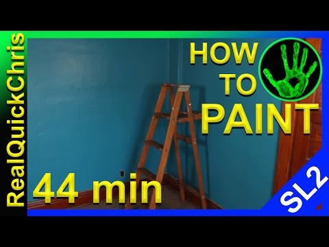 wall painting techniques and secrets how to paint a room in 44 minutes