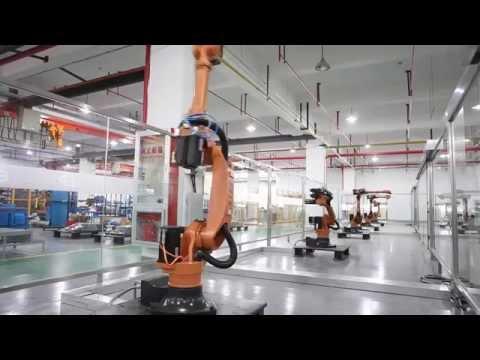 Shanghai Step Robotics factory video