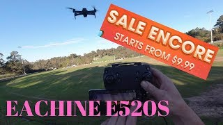 DJI Mavic Double? Eachine E520S - How far will it fly?