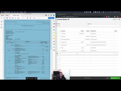 QuickBooks Online 2019 Tutorial: Recording a Rental Property Purchase