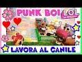 LOL SURPRISE al CANILE: Storia contro l'ABBANDONO! by Lara e Babou