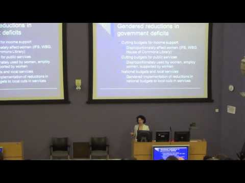 Porfessor Sylvia Walby - 2015 David Frisby Memorial Lecture, University of Glasgow