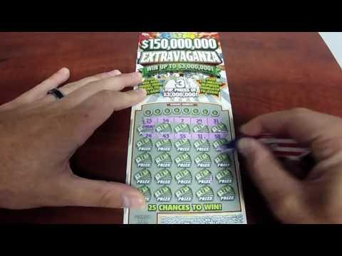 150000000 Dollar Hoosier Lottery Scratch Off Ticket !