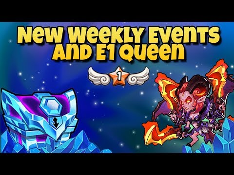 Idle Heroes (O3) - New Weekly Event Overview and Making an