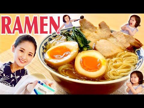 RAMEN Soy sauce soup