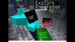 The Magic Of Literature ROBLOX Library of 2019
