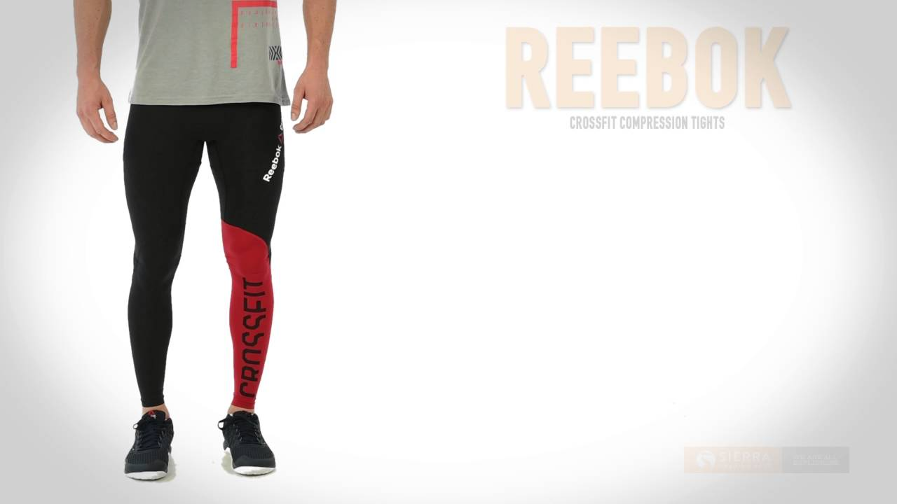0c7d66a972908 Reebok CrossFit Compression Tights (For Men) - YouTube