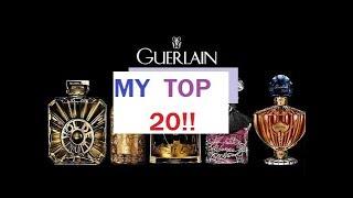 MY 20 FAVOURITE GUERLAIN PERFUMES!! 2019