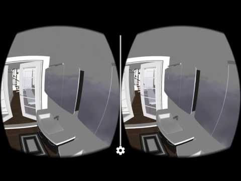 Inside a Shipping Container 5d planner in 360° 3d