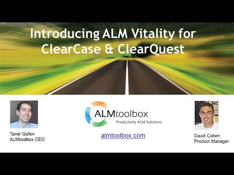 Introducing Monitoring Tool for ClearCase & ClearQuest