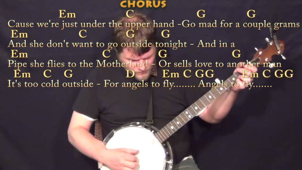 The A Team Ed Sheeran Banjo Cover Lesson In G With Chordslyrics