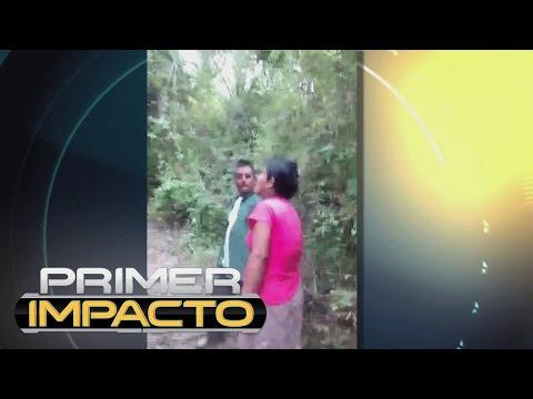 De un machetazo, un hombre cegado por los celos le corta la mano a su esposa en México