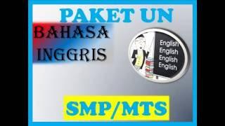 Video No 1-5 UN BAHASA INGGRIS SMP download MP3, 3GP, MP4, WEBM, AVI, FLV November 2017