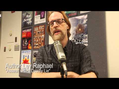 Lansing Online News Radio - Lev Raphael - Assault with a Deadline Lie