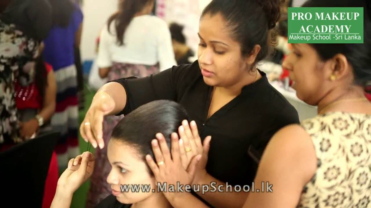 bridal makeup courses - pro makeup academy, sri lanka - youtube
