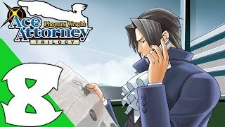 Phoenix Wright: Ace Attorney Trilogy Walkthrough Gameplay Part 8 - Case 8 (PC Remastered)