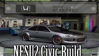 NFSU2 Honda Civic Build Ep 1 Kicking It Old School | SLAPTrain