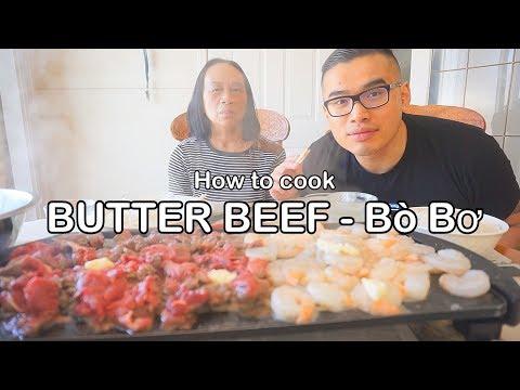 How to cook BUTTER BEEF - Bò Bơ