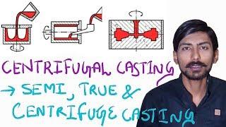 [HINDI]CENTRIFUGAL CASTING ~ TRUE CENTRIFUGAL CASTING, SEMI-CENTRIFUGAL CASTING & CENTRIFUGE CASTING