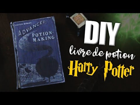 Diy Livre De Potion Harry Potter Advanced Potion Making Book