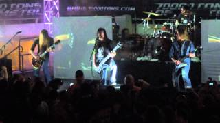 Carcass - Captive Bolt Pistol @ 70000 Tons of Metal 2014