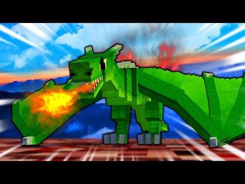 Wild Minecraft - BABY DRAGON! (Minecraft Modded Survival)