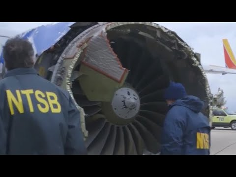 Southwest jet's engine blade had microscopic cracks