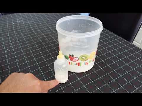 Preparate con leche de formula para cualquier contingencia
