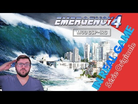 CSP-IRG - TREMBLEMENT DE TERRE / TSUNAMI  - Série Originale - (Emergency 4 / 911 First Responder)