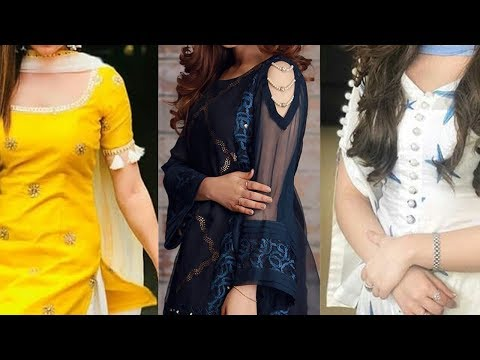 Latest and Beautiful Sleeves Designs With Stylish Dresses 2019