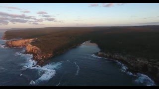 Wattamolla from Above 4K  - Wherever I may Drone Episode 4