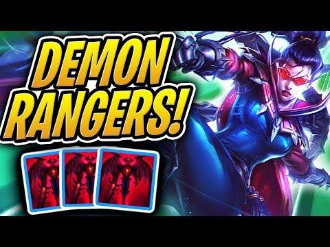 I TURNED ALL MY RANGERS INTO DEMONS! | Darkin Comp | Teamfight Tactics | TFT | LoL Auto Chess